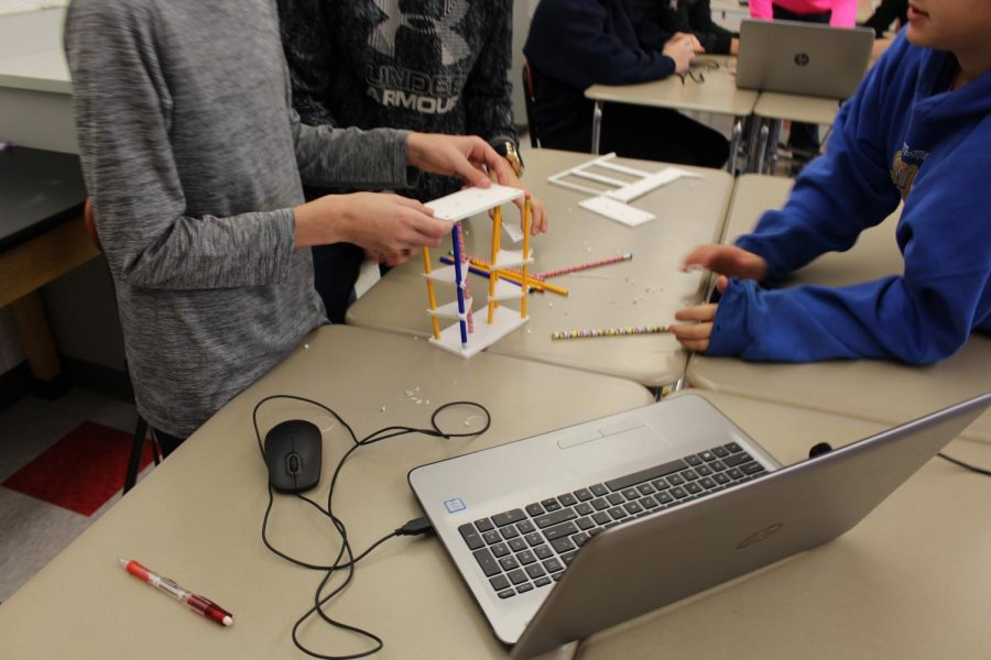Seventh and eighth grade learn STEM with Fab Lab