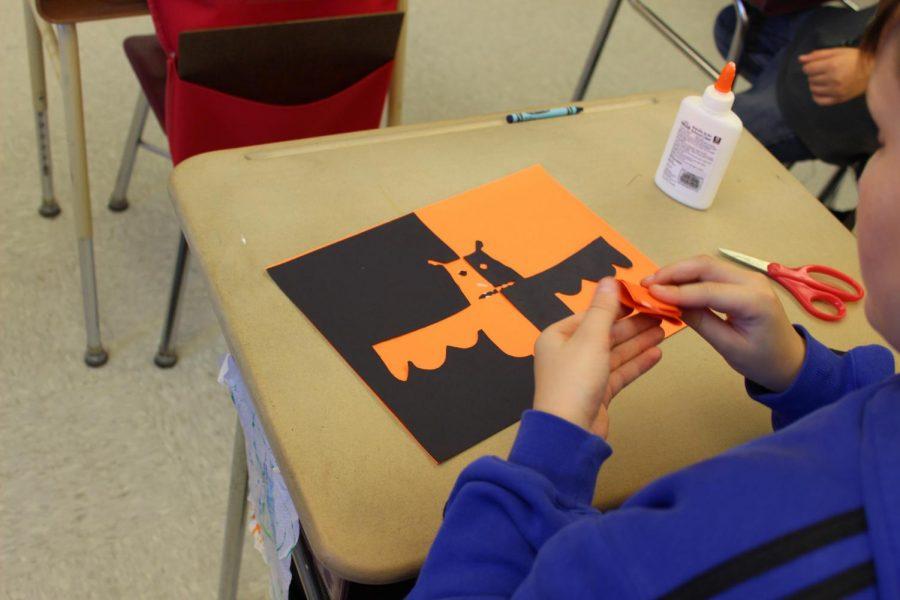 Fifth grade celebrates Halloween with fun fest