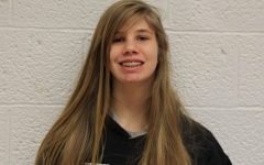 Seventh grader Susan Nelson plays for North Pittsburgh Wildcats hockey team