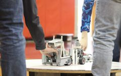 Freedom Area Middle School hosts Beaver County RoboSumo competition