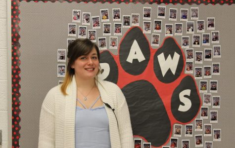 Freedom Middle School welcomes new hall monitor Ms. Vinson