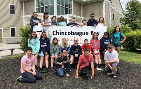 Seventh grade students take trip to Chincoteague Bay Field Station