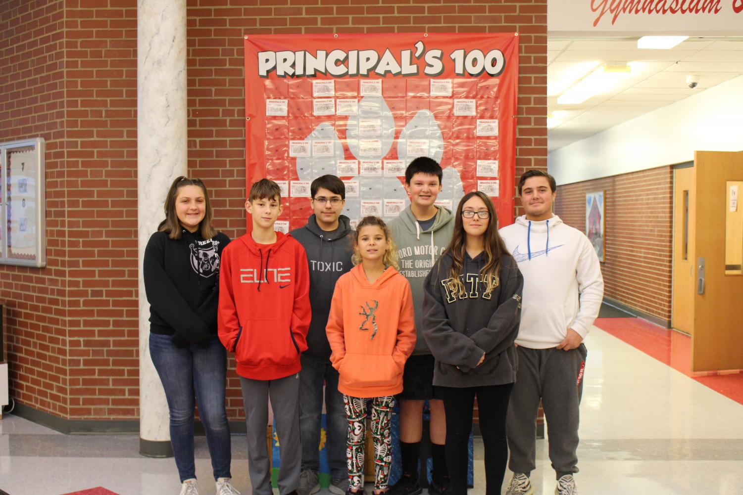 Seven middle school students will represent Freedom Middle School at the Beaver County Honors Band on Nov. 20-21.