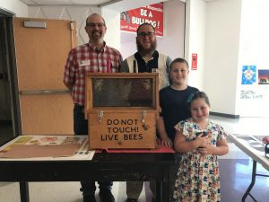 Sixth grade learns about beekeeping from Honey so Good