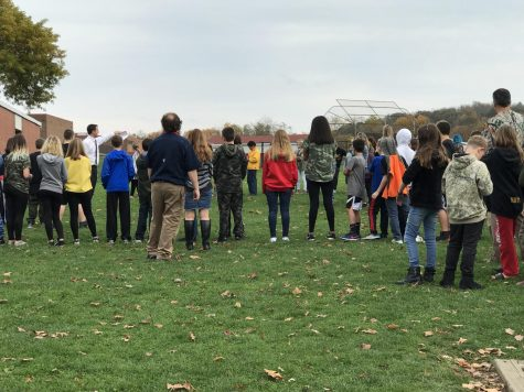 Eighth graders participate in trip to the Gettysburg battlefield