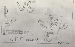 Students debate if they like CDTs or PSSAs better.