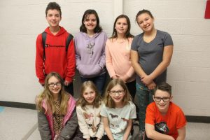 Eight students chosen to go to chorus fest in April
