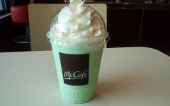 McDonald's Shamrock Shakes: wait 'til next year!