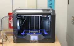 3D printers at work making objects